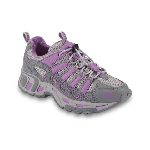 The North Face Betasso Shoe - Girls' Griffin Grey/African Violet, 6.0