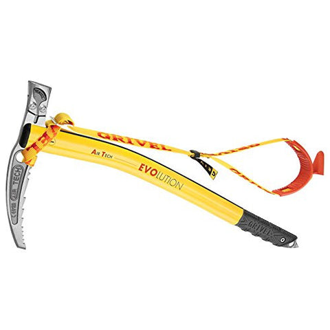 GRIVEL Air Tech G-Bone Hammer with Leash Yellow 53