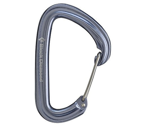 Black Diamond Hotwire Carabiner - Gray