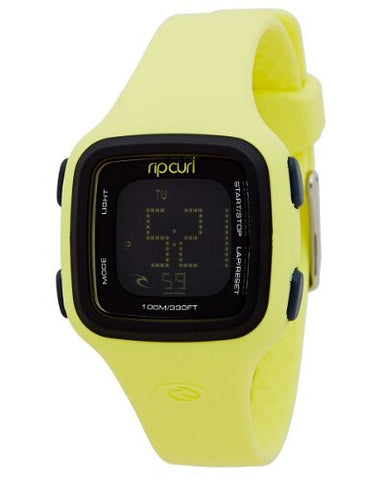 Rip Curl Women's A2466G Candy Digital Lime Yellow Watch