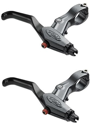 Bicycle Hand Brake Levers For Bikes SPEED DIAL 7 LEVER MTB BMX RORL GRAPHITE (PAIR)