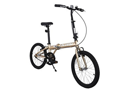 Columba PR20S Folding Bike Gold (PR20S_GLD)