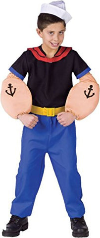 Morris Costumes Boy's POPEYE CHILD, LARGE 12-14