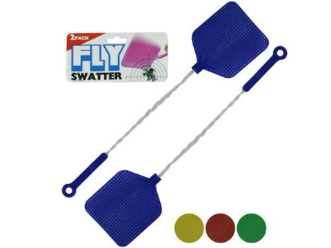 2Pc Wire Handl Flyswatter Case Pack 48
