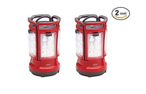 (2) COLEMAN Rechargeable Camping Light LED Quad Lanterns w/ Handle | 2000001150