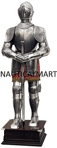 16th Century Etched Spanish Suit of Armor by Nauticalmart