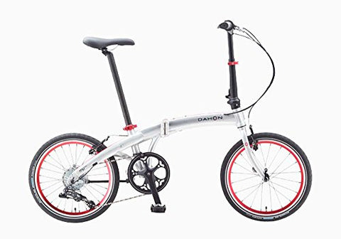Dahon Mu D8 Brushed Folding Bike Bicycle