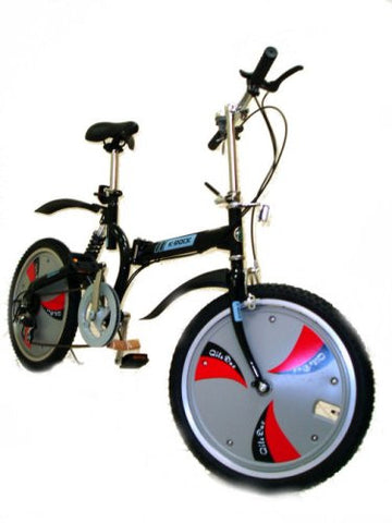 "Bestco Folding Bike,20""Wheels,3 Speeds - BLACK"