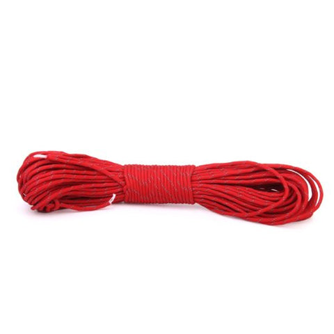 31m Outdoor Camping Parachute Rope Survival Cord Red