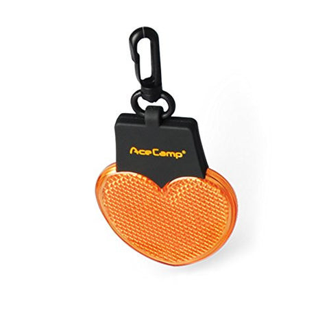 AceCamp 1030 Heart-Shaped Warning Light, Amber