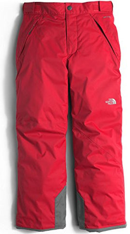 North Face Freedom Insulated Ski Pant - Boys 2017, TNF Red, XXS