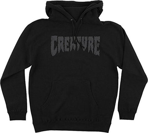 Creature Shredded Hoody/Sweater Small Black