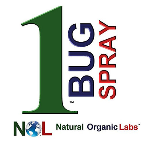 1 Bug Spray Organic Bug Spray Organic Mosquito Spray and Organic Insect Repellent Organic Pesticide 8 Oz Natural Organic Labs Product