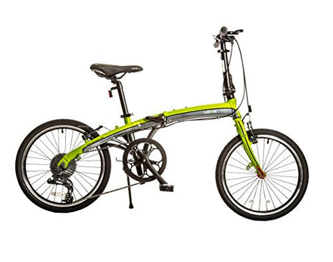 "Bike USA Ubike Citadel 9-Speed Folding Bicycle with 20"" Wheel, 10""/One Size"