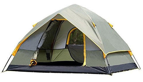 1 minute Open 2 Person Camping Tent Double-layer Waterproof Windproof Outdoor Hiking