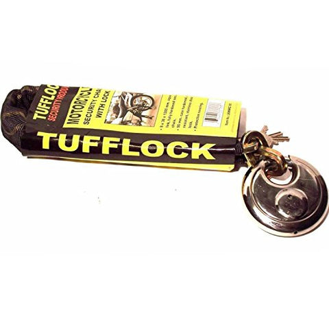 "47"" Motorcycle Security Chain With Tufflock"