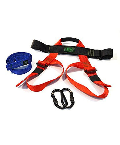 Childs Zip Line Harness Kit w Backup