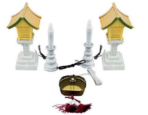 Candle lantern and security ( small ) set ARO-3203