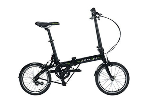 Dahon Jifo Uno Obsidian Folding Bike Bicycle