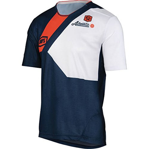 100% Airmatic Jersey - Men's Honor Navy, XL