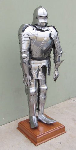 Full-Size Gothic Suit of Armor - Custom Size Armour