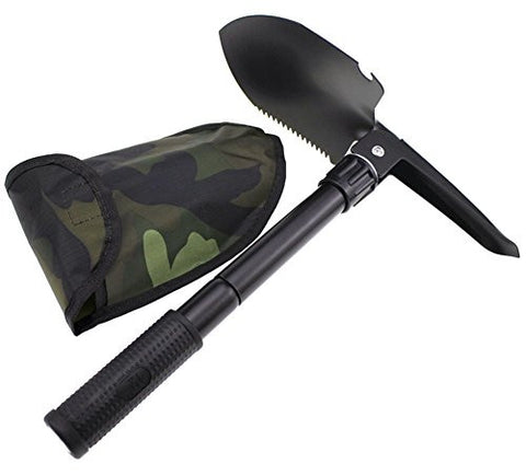 Coco*Store Multi-functional Military Folding Shovel Survival Spade Emergency Garden Camping