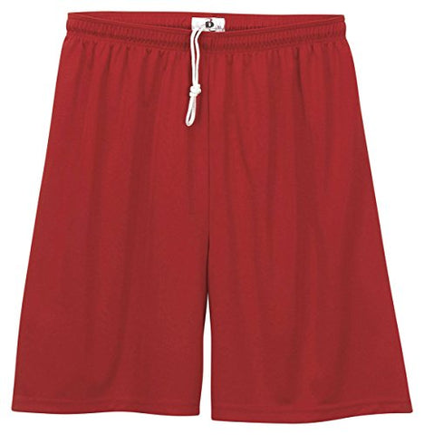 Badger Sportswear Youth B-Core Short, Red, Large