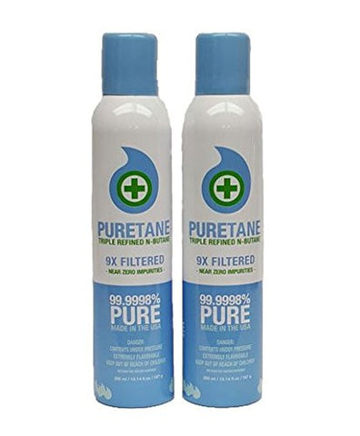 2 pack of Puretane N-Butane