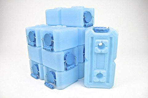 "Waterbrick Container & Aquamira Water Treatment Combo ""8 Pack"""