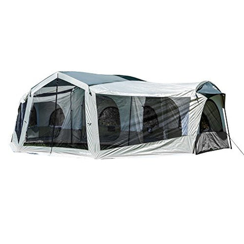 Tahoe Gear Carson 3-Season 14 Person Large Family Cabin Tent | TGT-CARSON-18