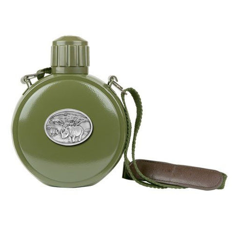 2 Rhinoceros Canteen with Compass