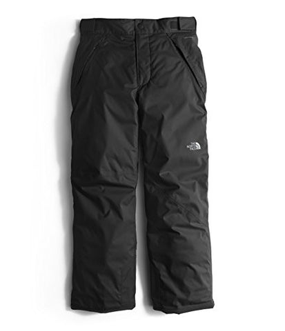 The North Face Freedom Insulated Kids Ski Pants - Small/TNF Black Static Print
