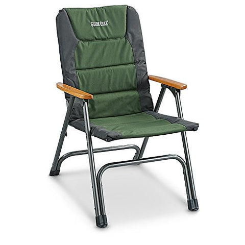 Guide Gear XL Padded Deck Chair 300 lb. Capacity