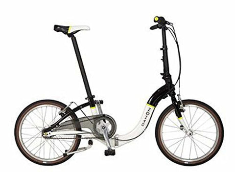 "Dahon Ciao i7 Folding Bicycle 20"" Wheel Black with White"