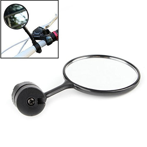 Delight eShop 360° Bicycle Bike Handlebar Flexible Cycling Rear View Rearview Mirror Safety