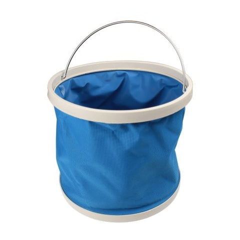 Water & Wood 9L Retractable Collapsible Camp Hiking Climbing Water Bucket Storage Carrier Container