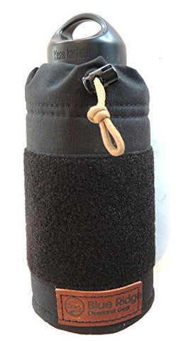 40oz. Klean Kanteen Pouch | BLUE RIDGE OVERLAND GEAR | hydration gear, water bottle covers, Klean Kanteen covers, camping, hiking, camping, survival gear essentials | Made in the USA