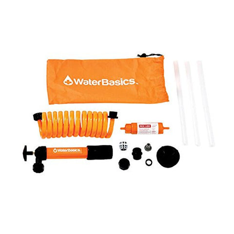 Aquamira WaterBasics 120 Gallon Emergency Water Pump and Filter Kit