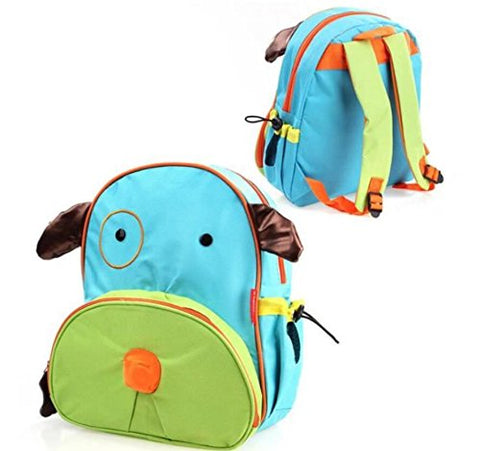 Blabroge Cute Zoo Pack Little Kid Backpack (Dog)