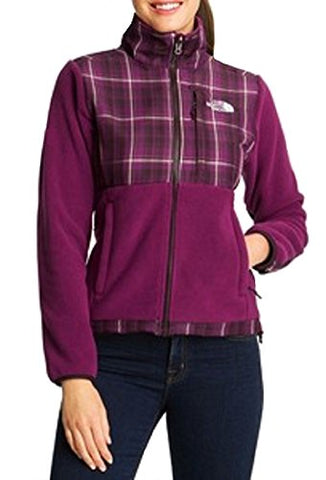 The North Face Womens Denali Fleece Full Zip Jacket (Premiere Purple, X-Small)