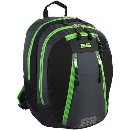 "Eastsport Lime 17.5"" Absolute Sport Backpack, Zip Closure, Very Comfortable and Fashionable"
