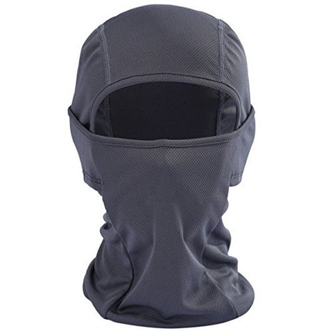 Balaclava Face Mask ,helmat mask,Funway Full Face Cover for Motorcycle, Biking, Ski, Cycling, Running or Hiking - Fit for Summer and Winter (Color may Vary) (grey)