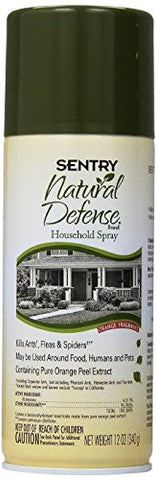 Sentry Natural Defense Natural Household Spray, 12-Ounce