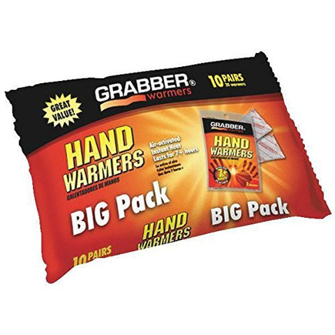 (Ship from USA) Grabber Performance 10 Pack Hand Warmers HWPP10 /ITEM#H3NG UE-EW23D70752