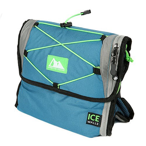 Arctic Zone 24 Can Freezable, Collapsible Cooler, Blue