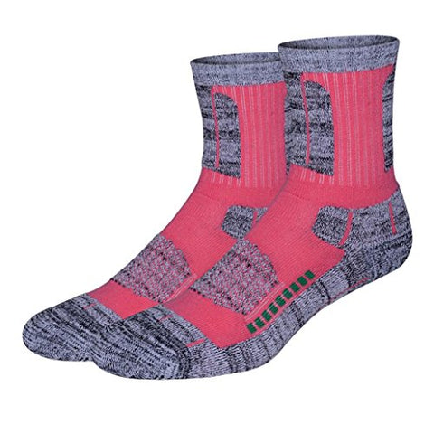 minishop659 Unisex Thicken Breathable Socks Winter Outdoor Athletic Sports Socks - Pink One Size Women's