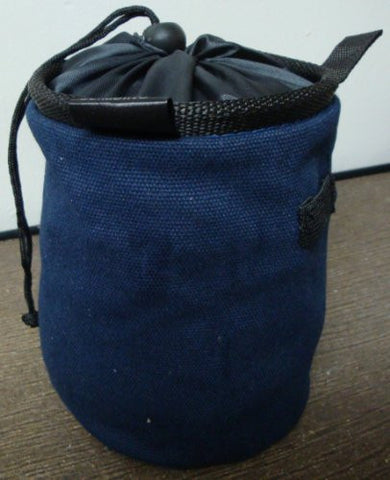 Chalk Bag for Gymnastics, Climbing, and Weight Lifting (Dark Blue)