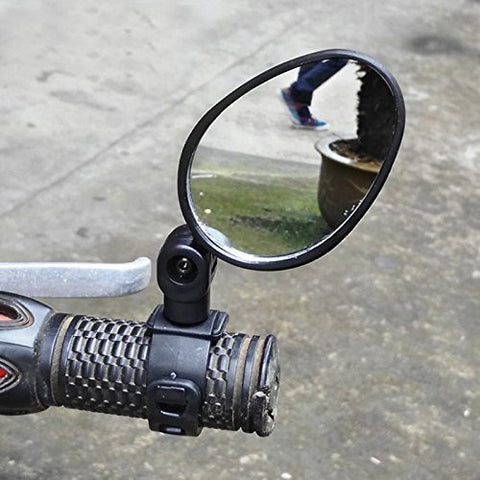 ACE Seller Universal Handlebar Rearview Mirror 360 Degree Rotate Bike MTB Cycling