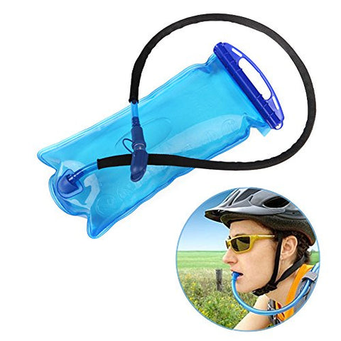 2L/70 Oz Hydration Bladder Ecooltek Source Hydration with Tube Collapsible Water Reservoir BPA Free Large Opening Easy to Clean Hydration Systems for Cycling,Climbing,Hiking