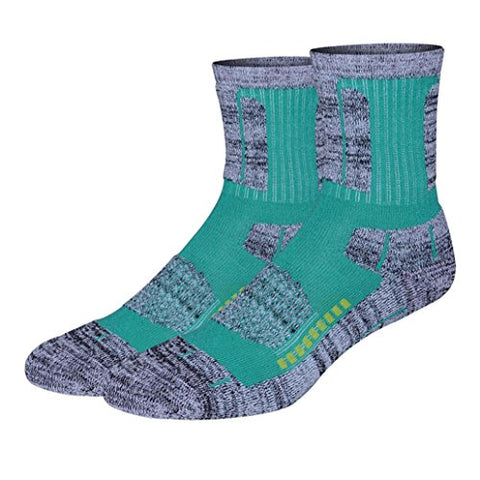 minishop659 Unisex Thicken Breathable Socks Winter Outdoor Athletic Sports Socks - Green One Size Women's